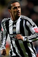 Alleged Wigan interest in Newcastle's Wayne Routledge.
