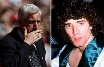 Alan Pardew and Kevin Keegan.