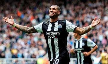Leon Best scores against Fulham.