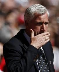 Alan Pardew says Newcastle United are unlikely to achieve European football.