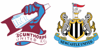 Scunthorpe v Newcastle United match banter.