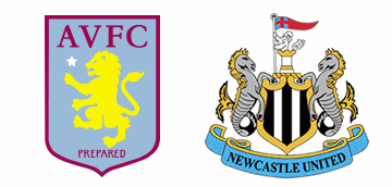 Aston Villa v Newcastle United.