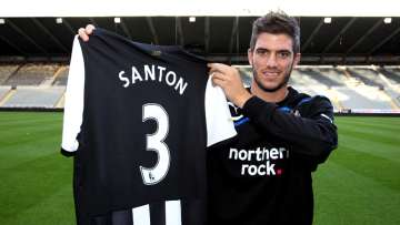 "Santon: ""Very glad"" to be at Newcastle United."