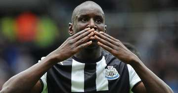Demba Ba: Knacked ankle?
