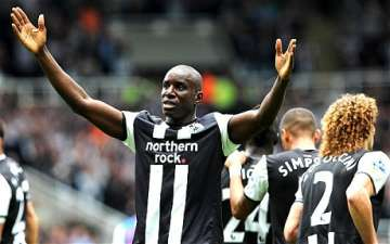 Demba Ba: Hat-trick hero and M.O.T.M performance.