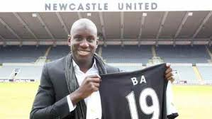 Newcastle United will be looking for goals from Demba Ba.
