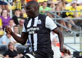 Demba Ba hat-trick sees Newcastle beat Blackburn 3-1.