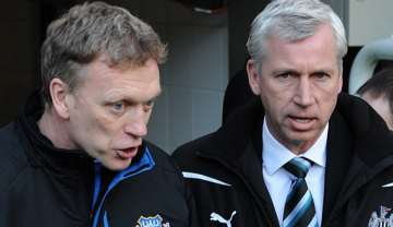 Moyes and Pardew: Mutual appreciation society.