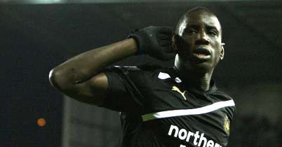 Demba Ba: My man of the match.