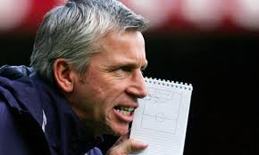 Pardew chilled about Everton encounter.