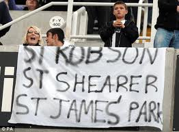 Ashley's plans to rename St James' Park go down like a lead balloon.