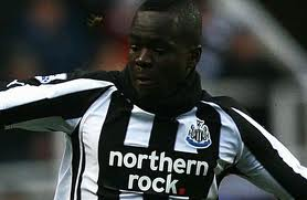 Newcastle United's Tiote has had a medial ligament injury.