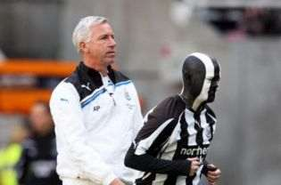 Alan Pardew: Problems at the rear.