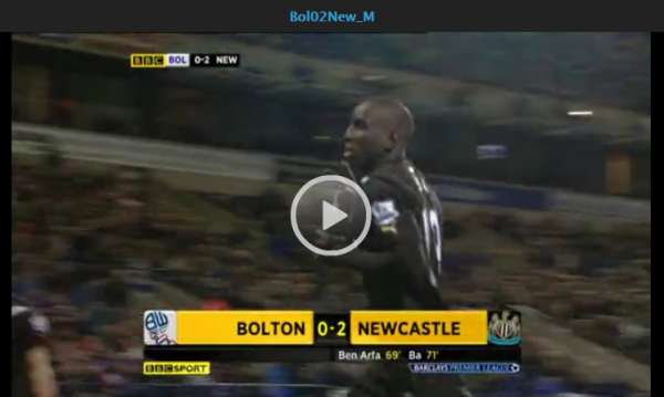 Bolton Wanderers v Newcastle United highlights
