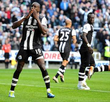 Demba Ba and Cheick Tiote.