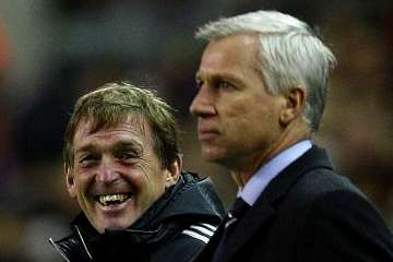 Kenny Dalglish and Alan Pardew.
