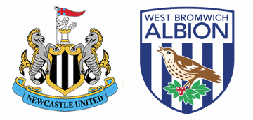Newcaastle United v West Bromwich Albion.