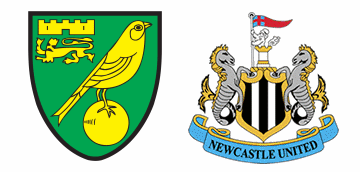 Norwich City vs Newcastle United.