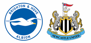 Brighton v Newcastle United in the FA Cup.