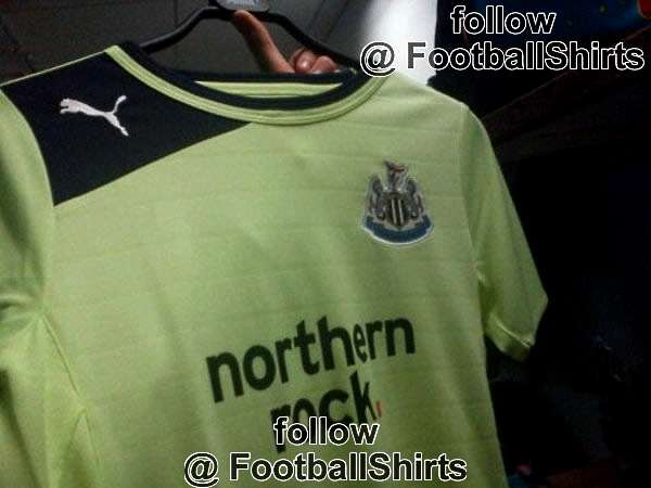 Newcastle United green shirt  2012-13
