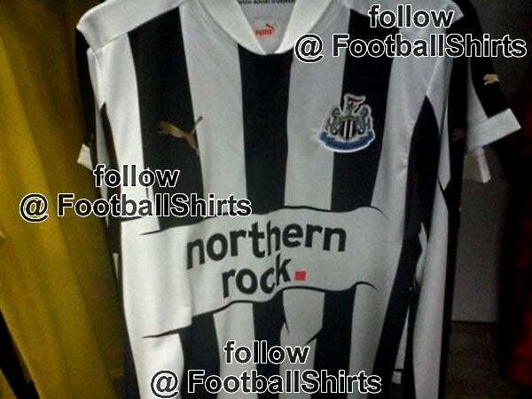 Newcastle United home shirt 2012-13.