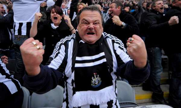 The Toon Army being their usual restrained selves.