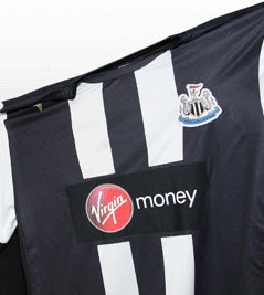 Virgin Money sponsor Newcastle United shirts.