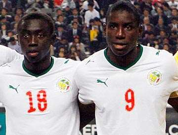 Papiss Cisse and Demba Ba.
