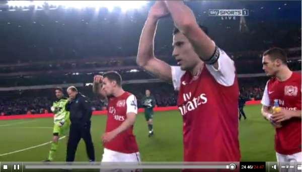 Arsenal v Newcastle United full match video 12/03/12..