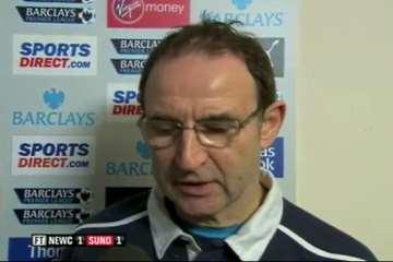 Sunderland manager, Martin O'Neill.