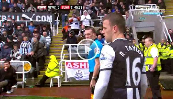 Newcastle United v Sunderland full match video 4/3/12.