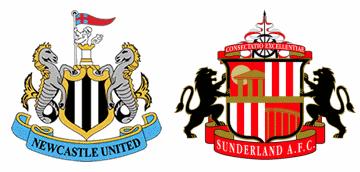 Newcastle United v Sunderland.