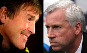 Dalglish and Pardew