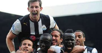 Newcastle 2-0 Liverpool April 2012.