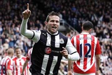 Newcastle v Stoke match report.