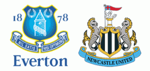 Everton v Newcastle United.
