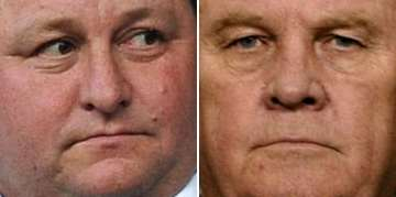 Mike Ashley and Freddy Shepherd.