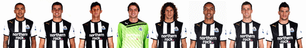 NUFC defenders and utility players.