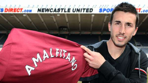 Romain Amalfitano signs for Newcastle United!
