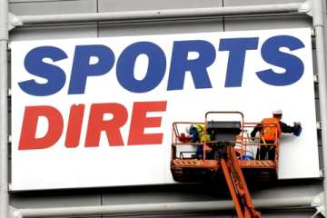 Sports Direct sign, St James' Park.