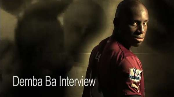 Demba Ba interview.