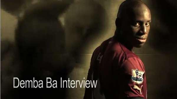 Demba Ba interview.