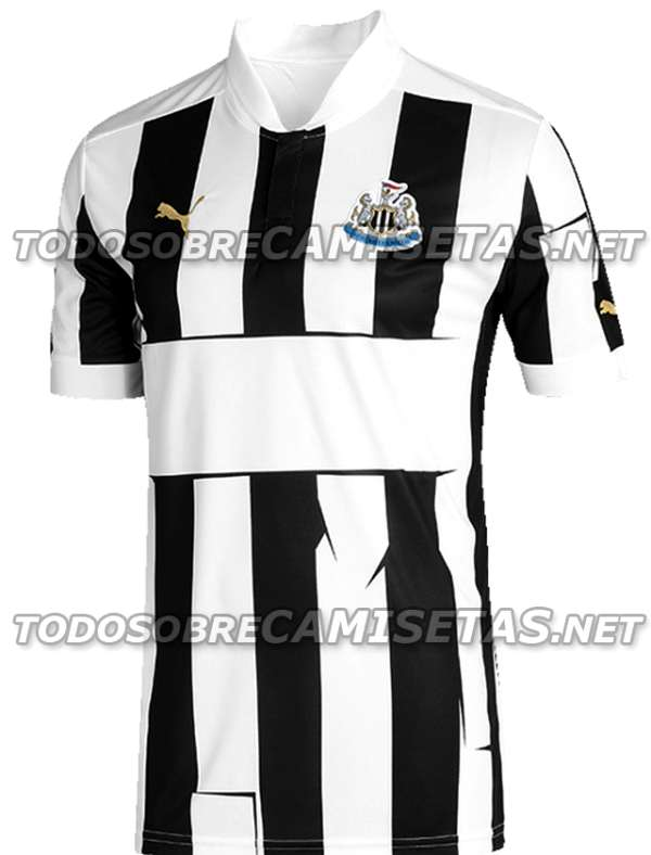 Newcastle United 2012/13 home shirt.