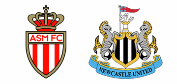 A.S. Monaco v Newcastle United.