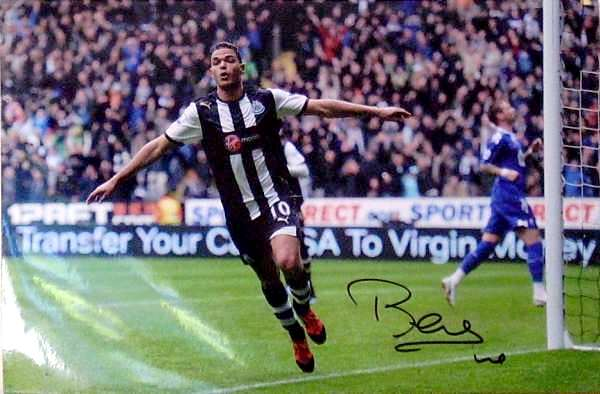 Hatem Ben Arfa signed photo.