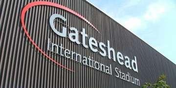 Gateshead International Stadium.