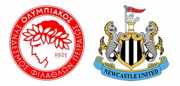 Newcastle United vs Olympiacos F.C.