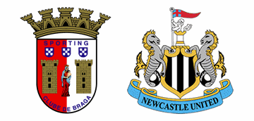 Newcastle United v S.C. Braga.