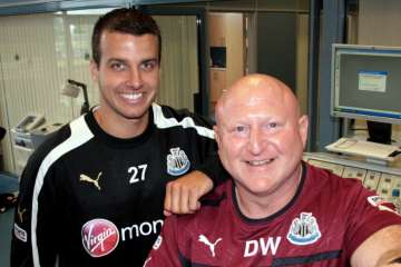 Steven Taylor and Derek Wright.