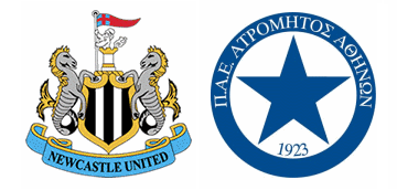 Newcastle United v FC Atromitos.